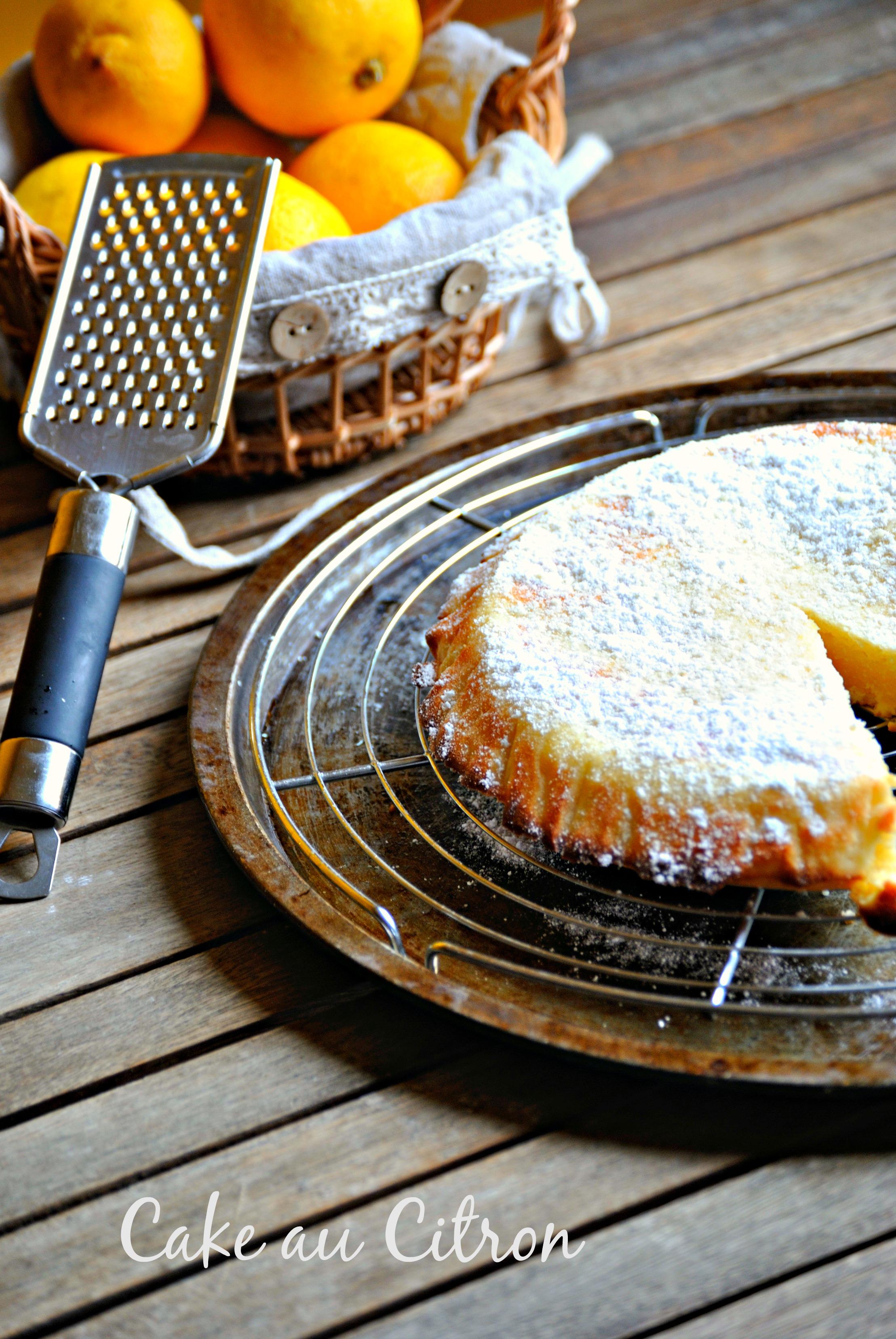 La recette fastoche du week-end : Le Cake au Citron/Crème de Hanane on