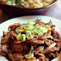 Bulgogi au Boeuf (Corée),pour un déjeuner rapide