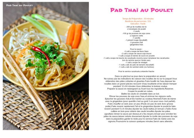 padthai recette