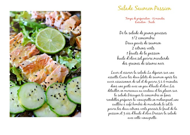 salade saumon passion