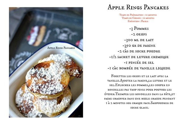 Apple Rings Pancakes