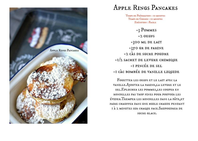 Apple Rings Pancakes