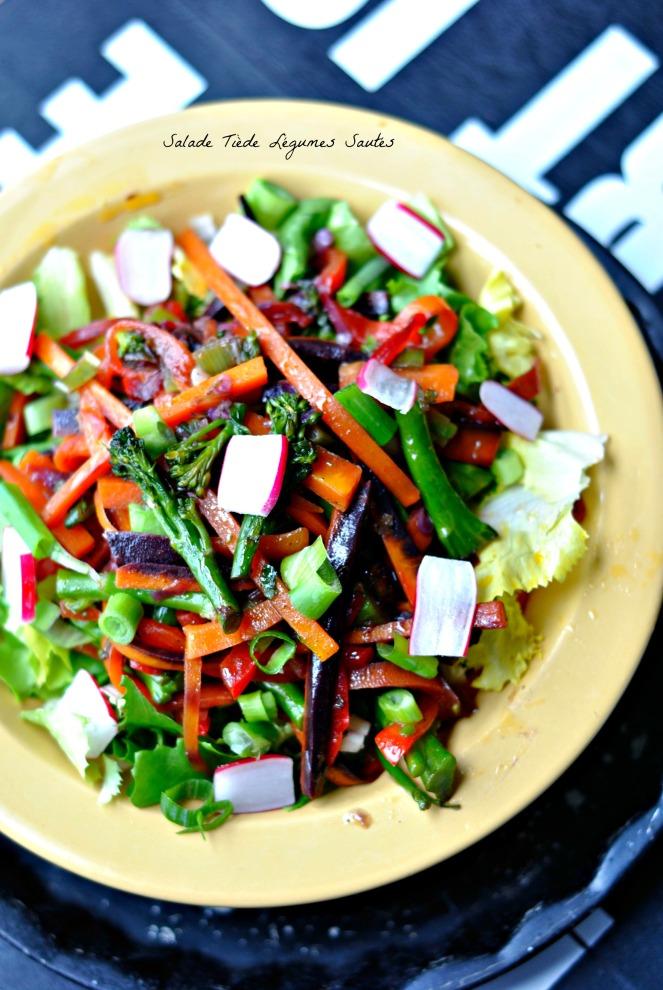 Salade Tiède Légumes Sautés 2