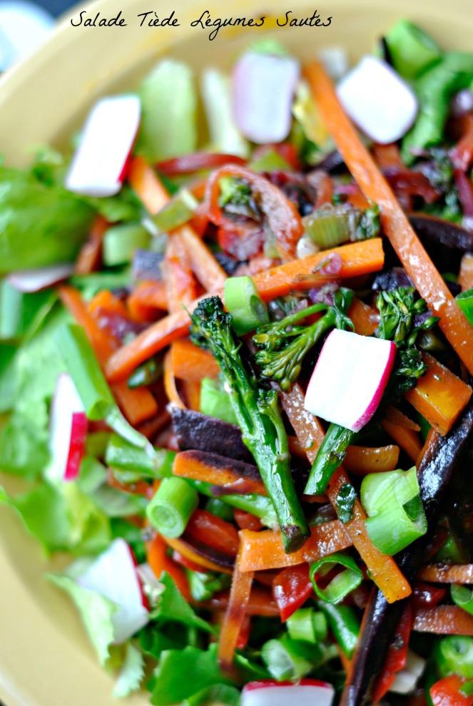 Salade Tiède Légumes Sautés 3