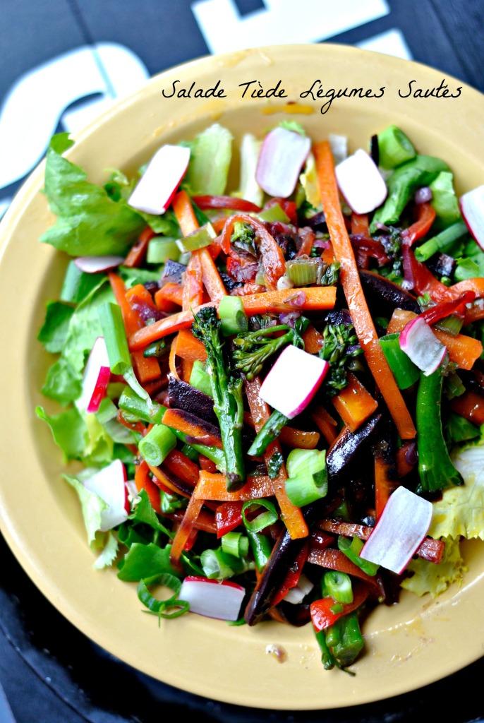 Salade Tiède Légumes Sautés 4