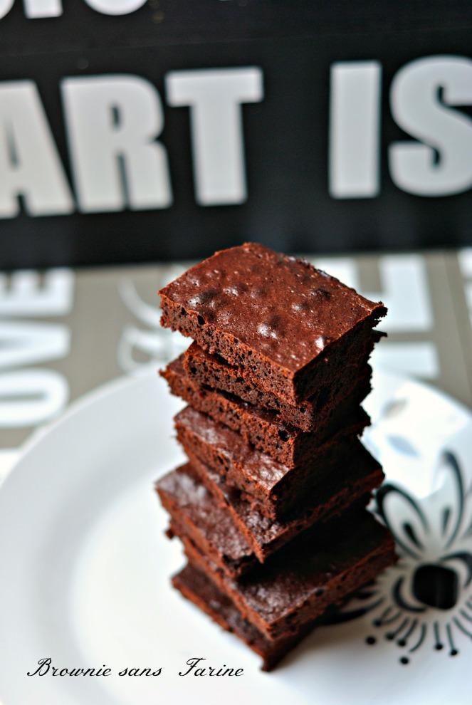 Brownie Sans Farine 1