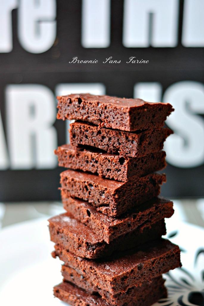 Brownie Sans Farine  2