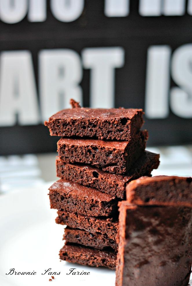 Brownie Sans Farine  3