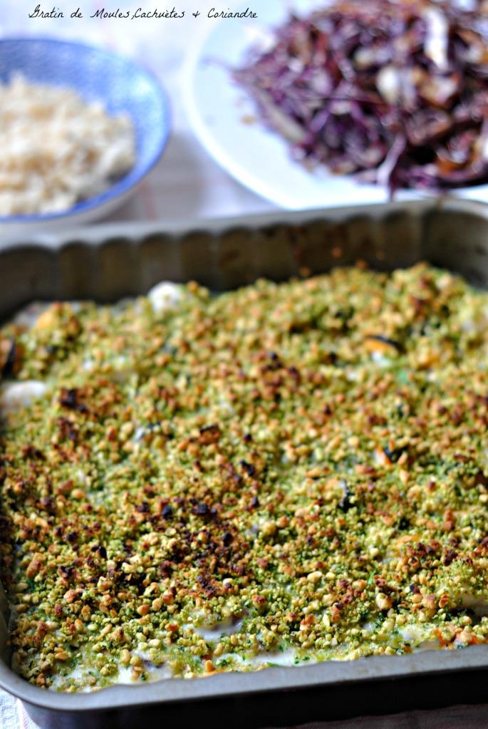 Gratin Moules Coriandre & Cacahuètes 1