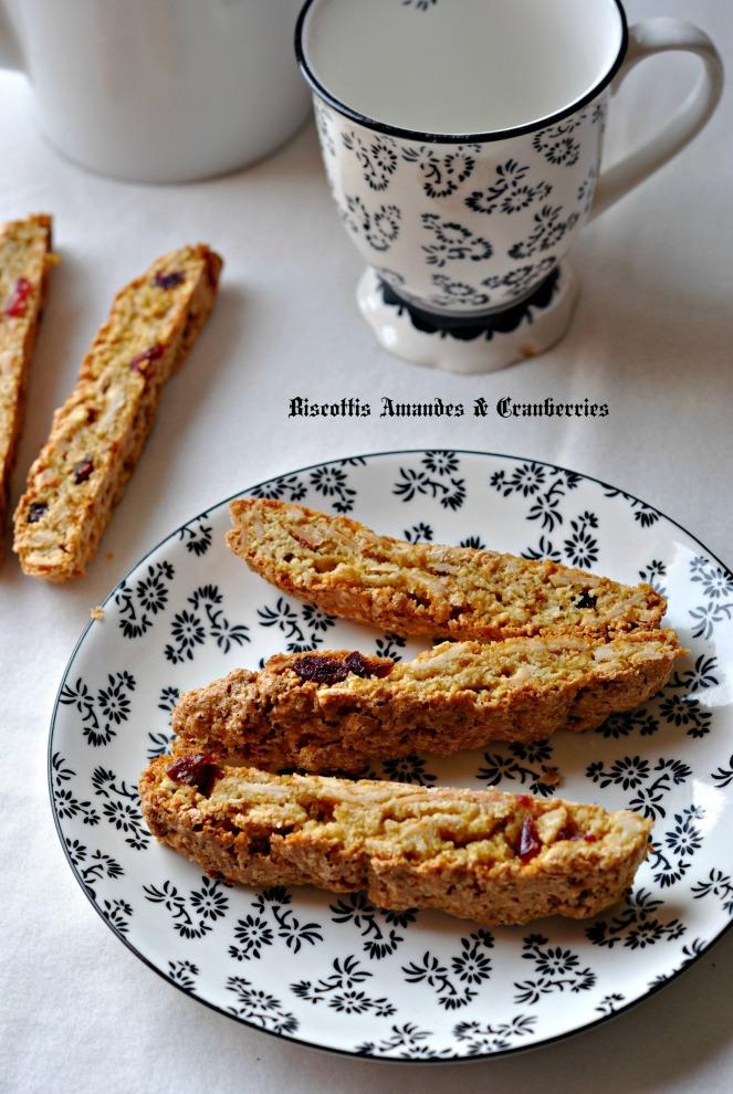 Biscottis Amandes & Cranberries 2