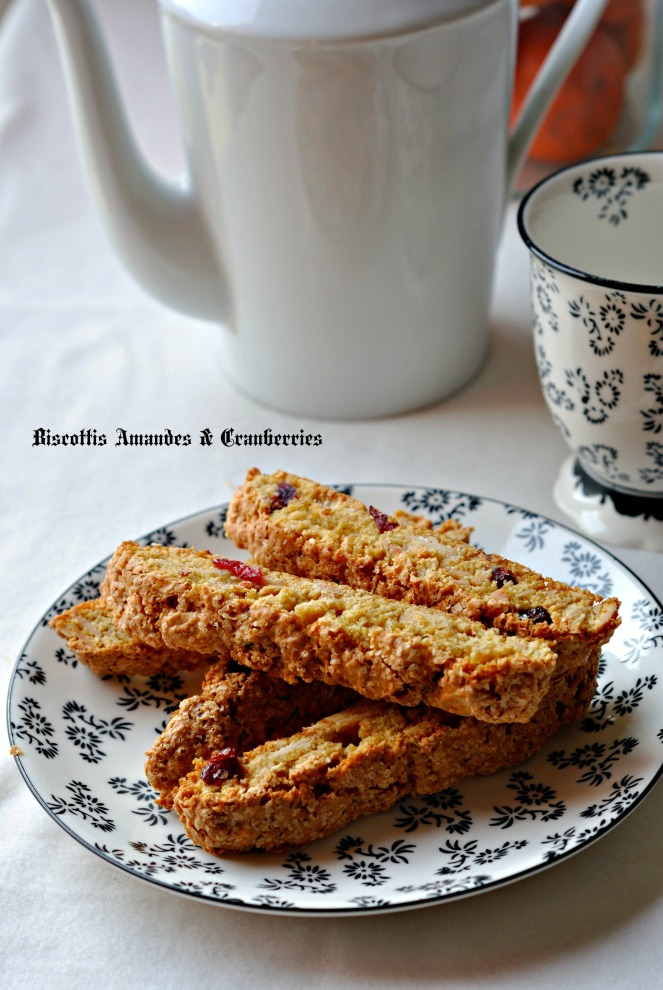 Biscottis Amandes & Cranberries 3