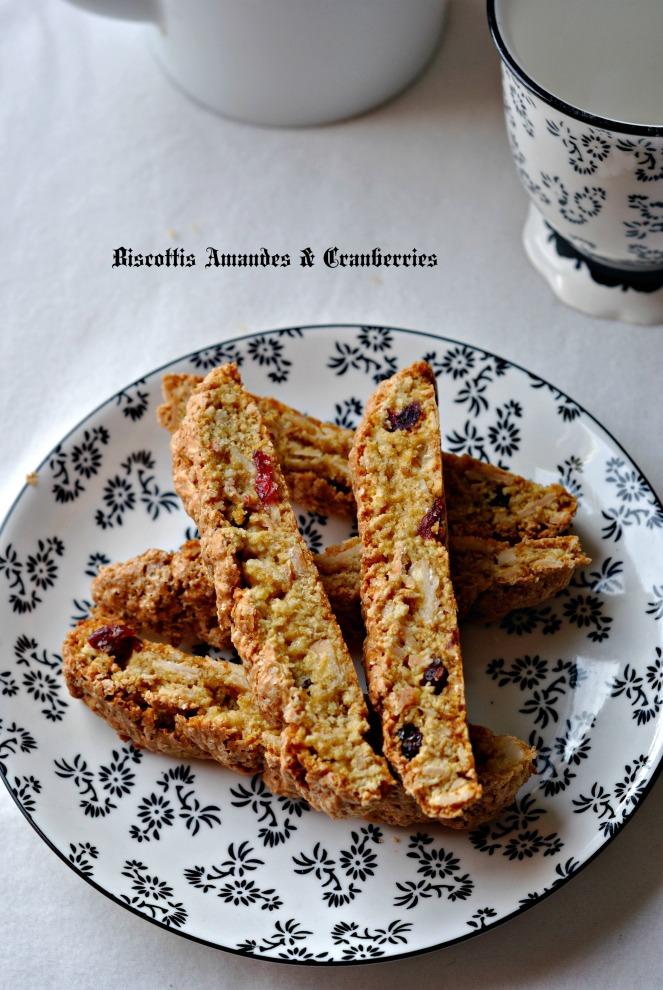 Biscottis Amandes & Cranberries 4