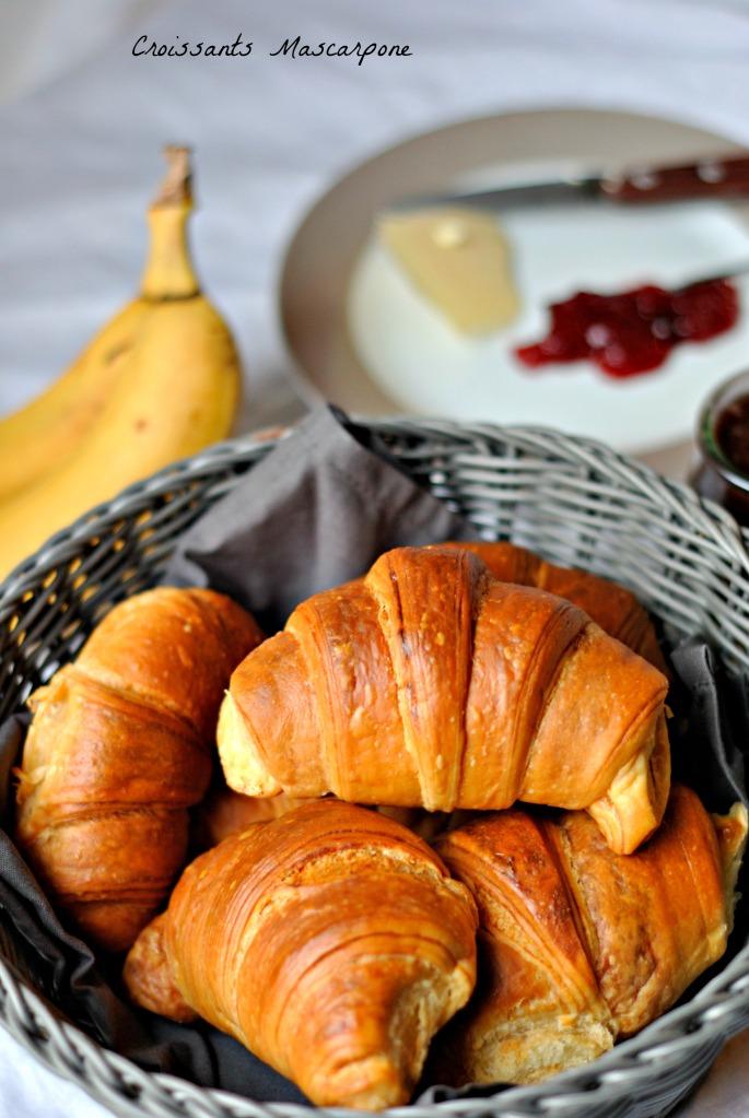 Croissants Mascarpone 1