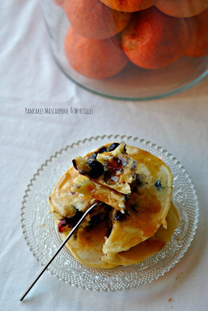 Pancakes Mascarpone & Myrtilles 2