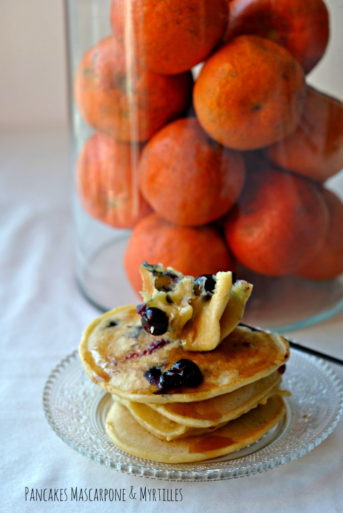 Pancakes Mascarpone & Myrtilles 4