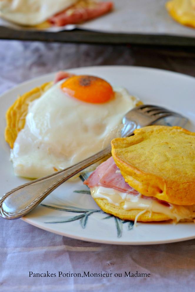 Pancakes Potiron,Monsieur ou Madame 2