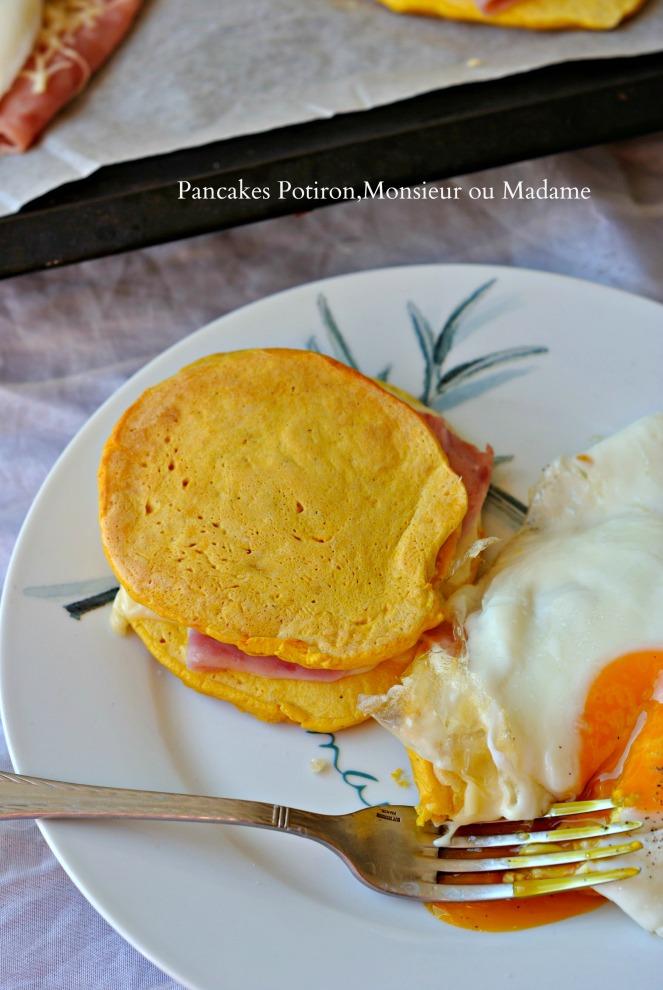 Pancakes Potiron,Monsieur ou Madame 4