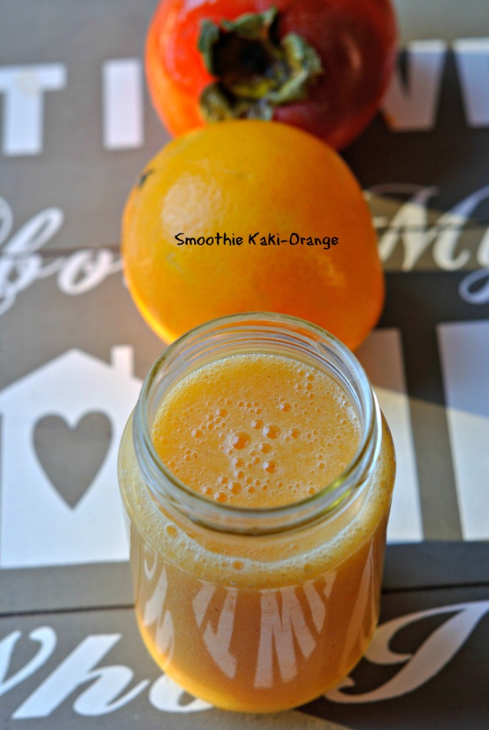 Smoothie Kaki Orange 1