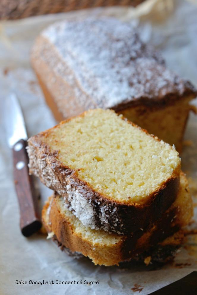 Cake Coco,Lait Concentré Sucré 4