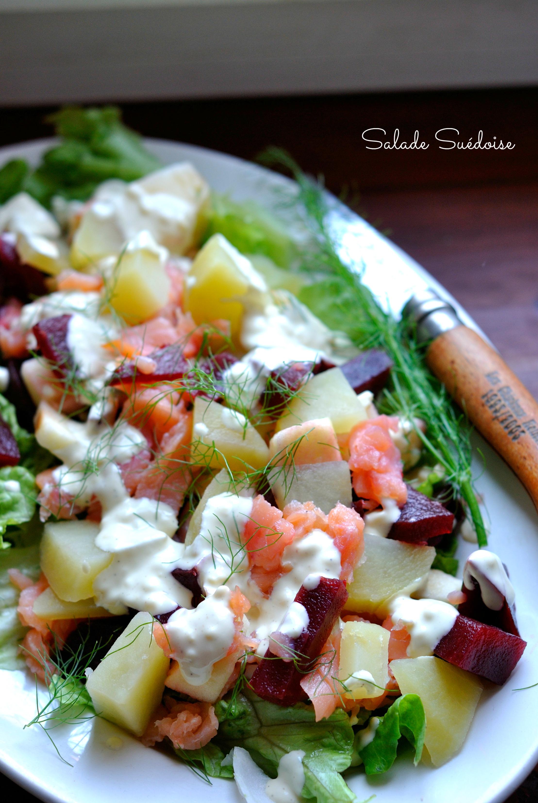 """Résultat de recherche d'images pour """"salade pomme de terre saumon betterave"""""""