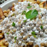 D'inspiration Fatteh Libanais (Pois Chiches,Yaourt)