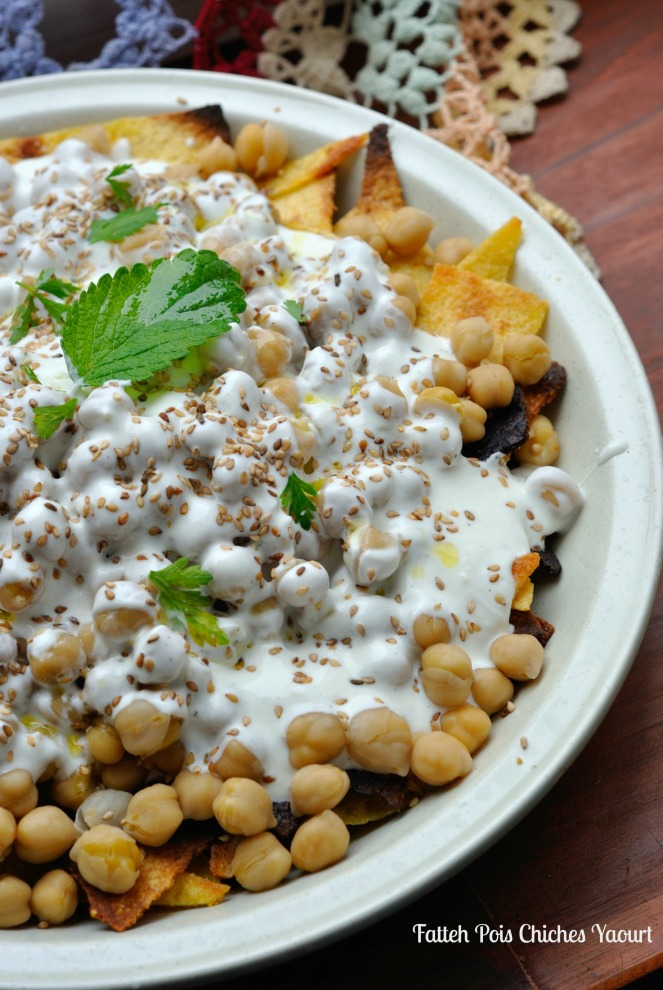 Fatteh Pois Chiches Yaourt 2