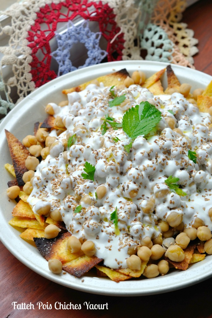 Fatteh Pois Chiches Yaourt 3