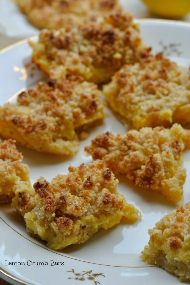 Lemon Crumb Bars 1