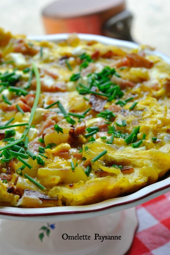 Omelette Paysanne 3