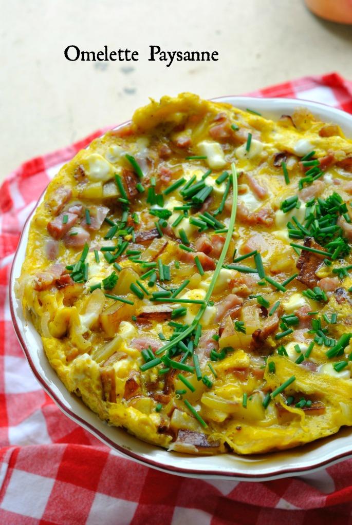 Omelette Paysanne 4