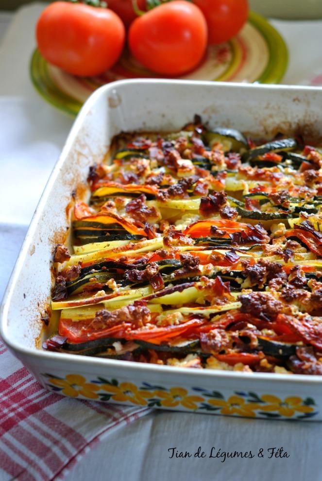 Tian Légumes & Féta 1