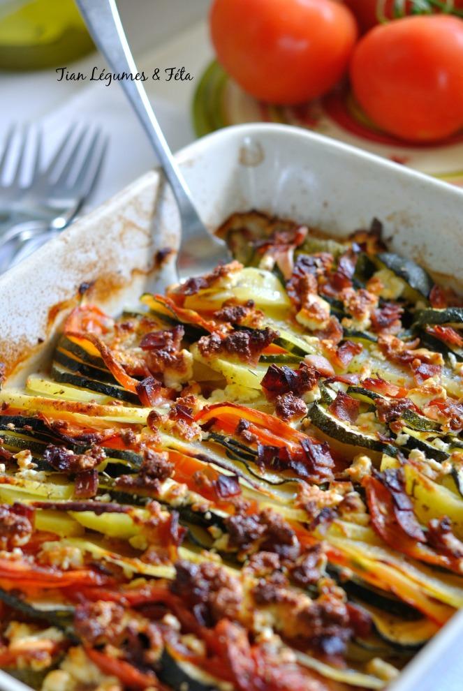Tian Légumes & Féta 3