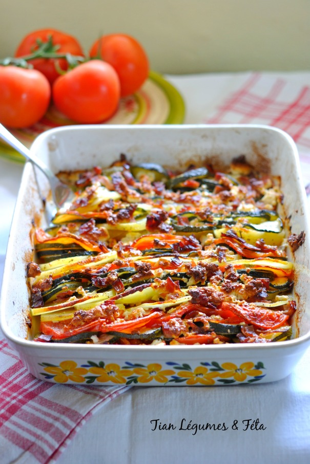 Tian Légumes & Féta 4