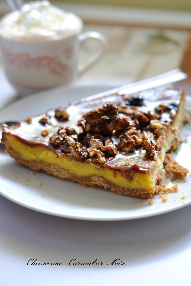 Cheesecake Carambar Noix 2
