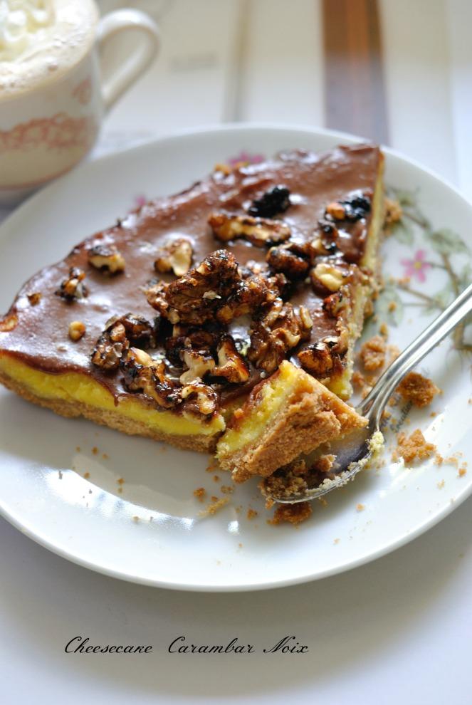 Cheesecake Carambar Noix 3