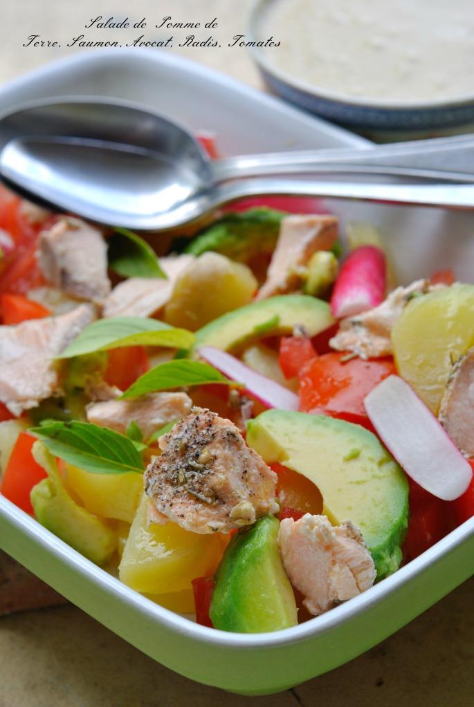 salade pdt saumon avocat 1