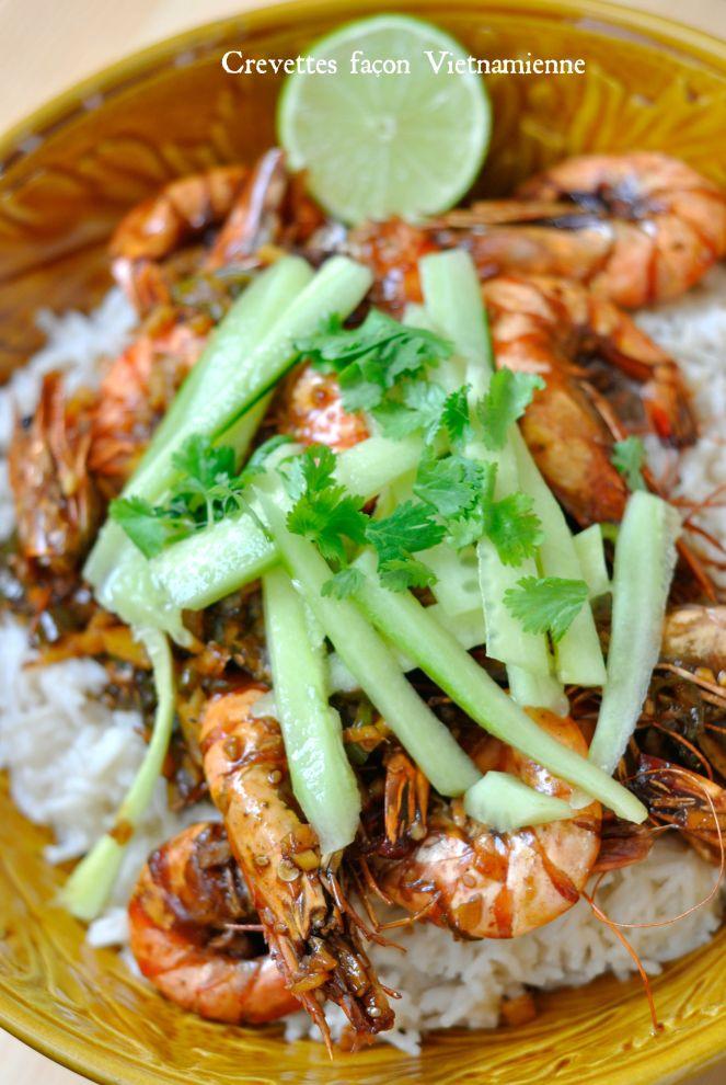 Crevettes Façon Vietnamienne 1