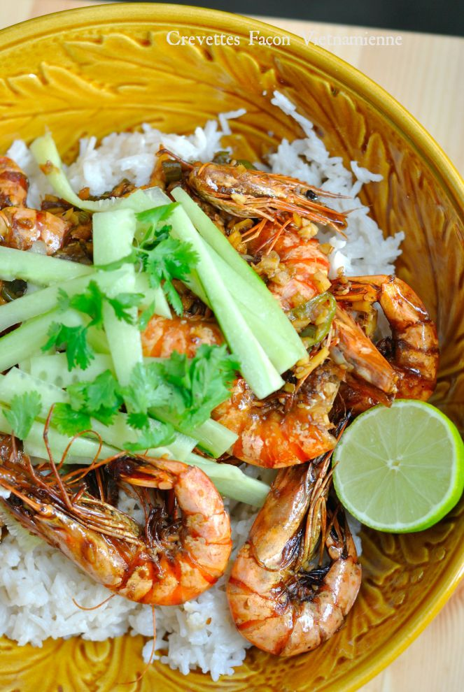 Crevettes Façon Vietnamienne 3