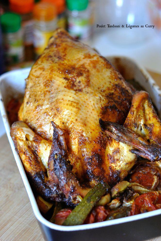 Poulet Tandoori & Légumes au Curry 1