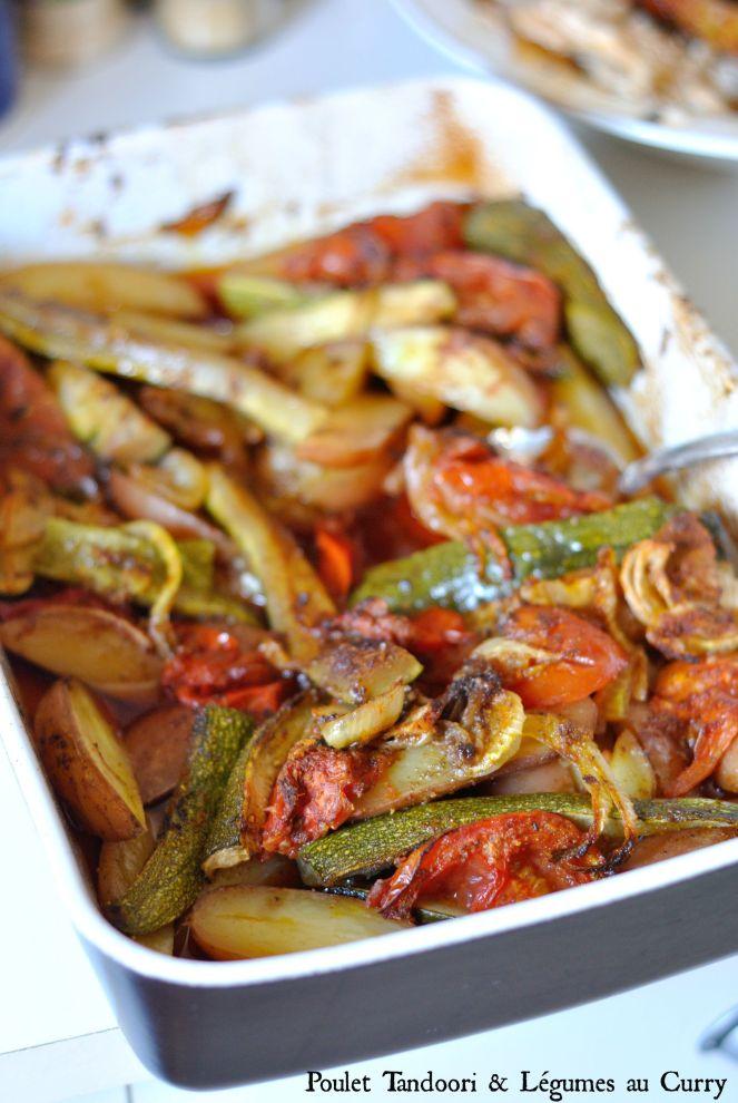 Poulet Tandoori & Légumes au Curry 2