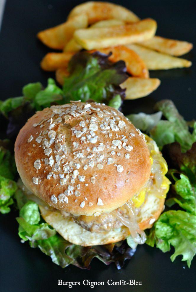 Burgers Oignon Confit-Bleu 3