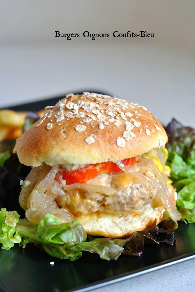 Burgers Oignons Confits Bleu 5