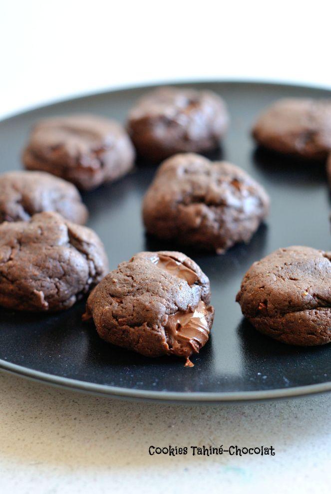 Cookies Tahiné-Chocolat 1