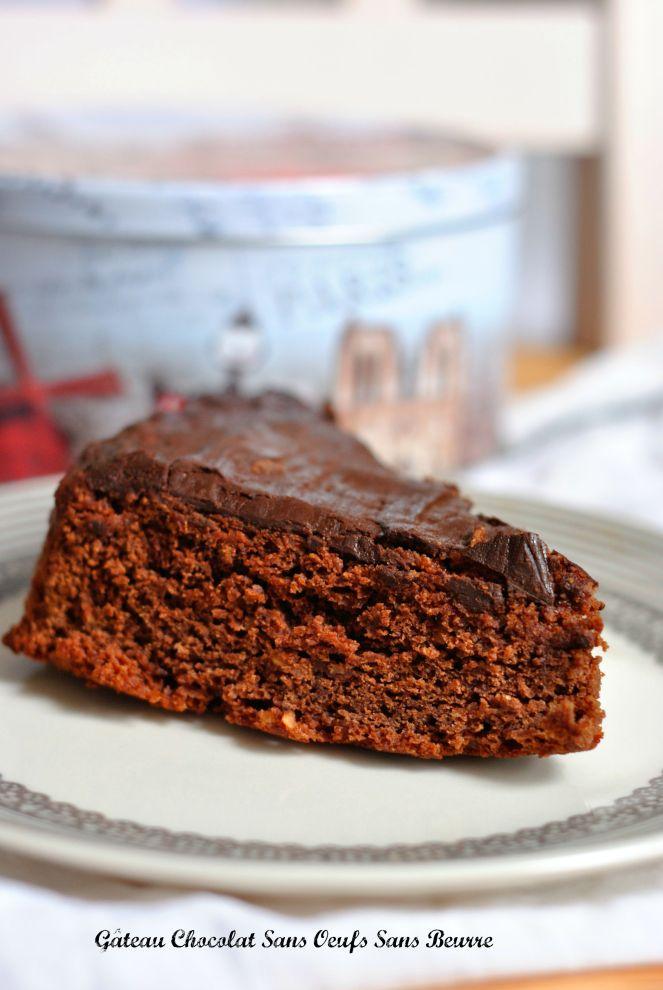 Gâteau Chocolat Sans Oeufs Sans Beurre 1