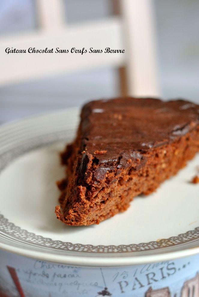 Gâteau Chocolat Sans Oeufs Sans Beurre 2