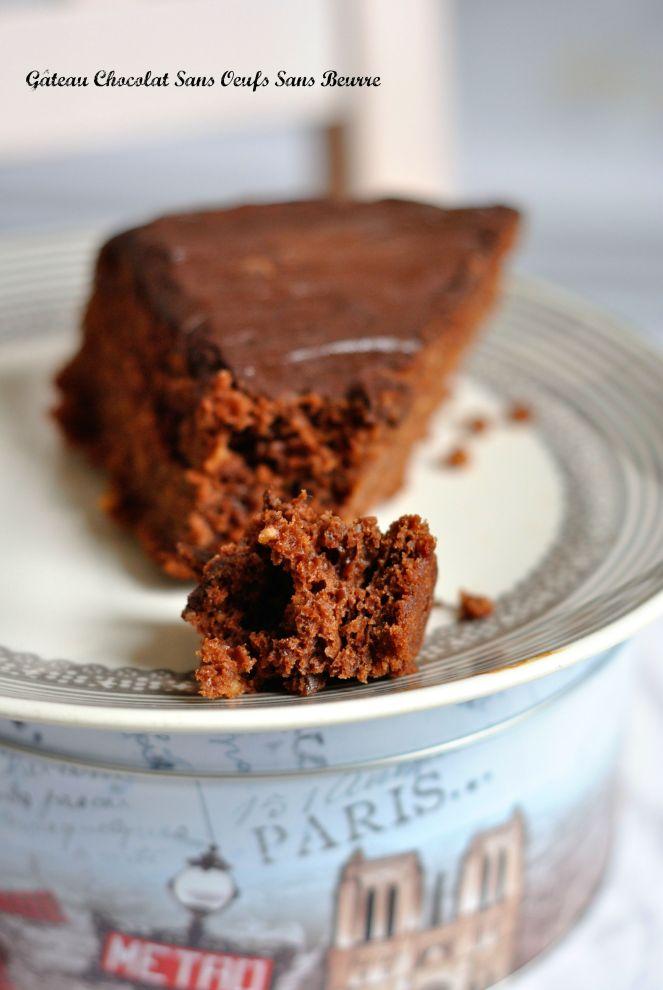 Gâteau Chocolat Sans Oeufs Sans Beurre 3