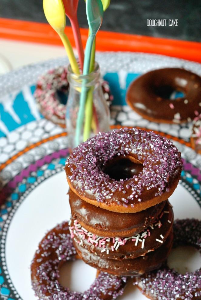 Doughnut Cake 4
