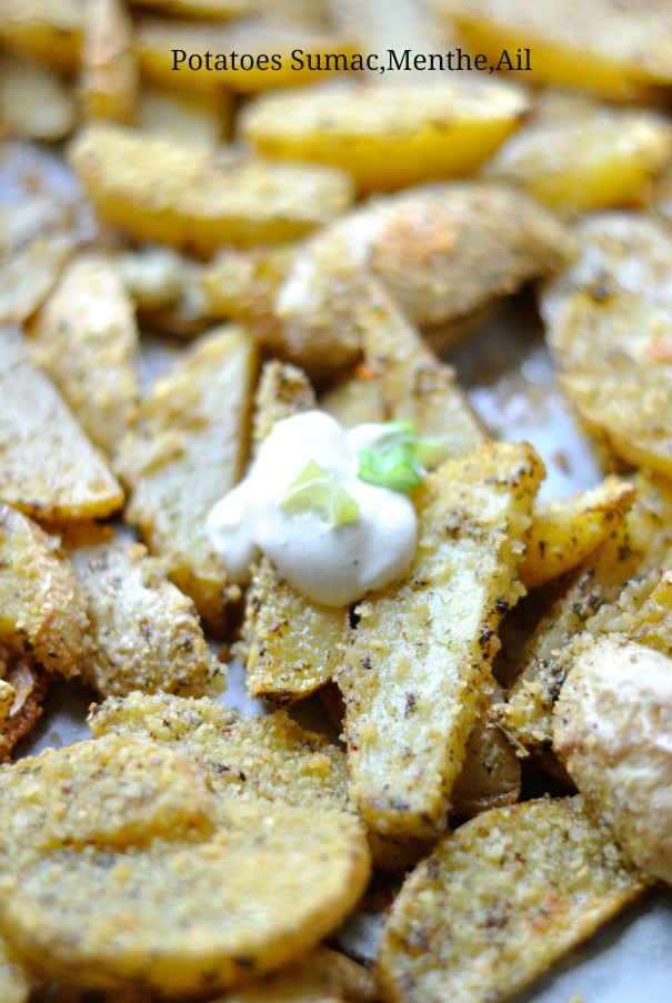 Potatoes Sumac,Menthe,Ail 4