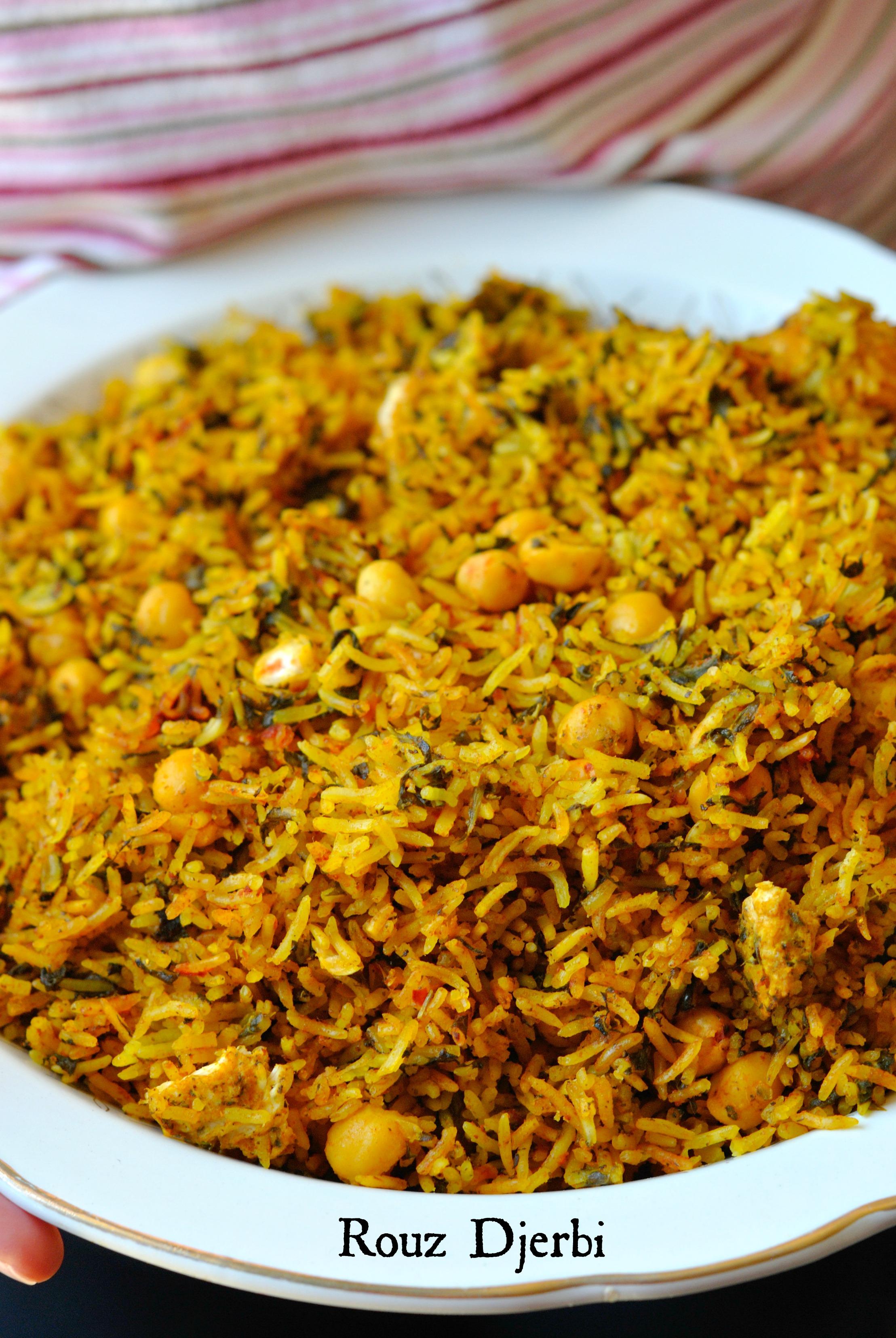 Rouz djerbi riz tunisien epic la vapeur the heart in the stomach - Peut on donner du riz cuit aux oiseaux ...