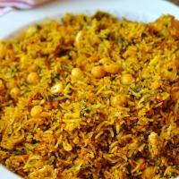 Rouz Djerbi (Riz Tunisien Epicé à la vapeur)